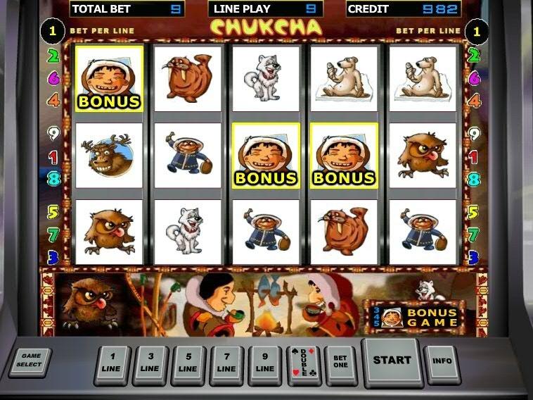 чукча игровые автоматы играть бесплатно