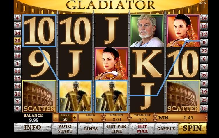 бесплатно гладиатор играть игровые автоматы