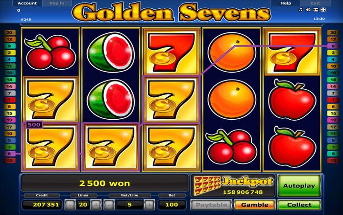 Игровые автоматы играть бесплатно семерки